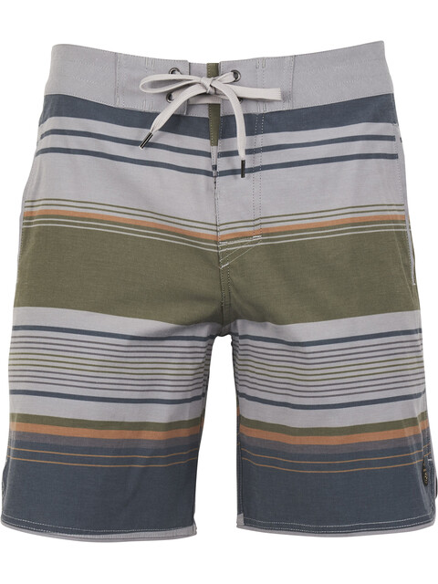 United By Blue M's Seabed Scallop Boardshorts Grey